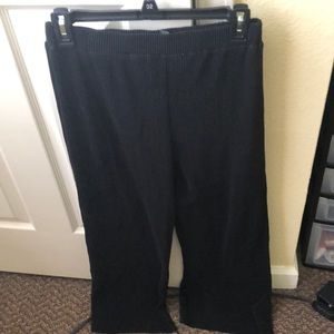 Wild and fable black flow dress pants